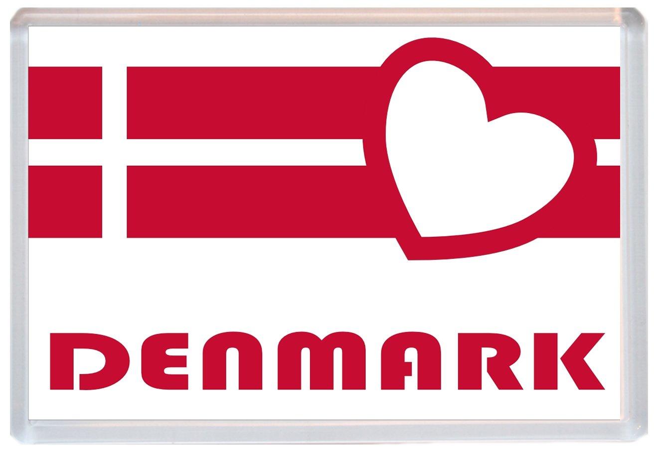 DENMARK fridge magnet!!! I LOVE Denmark I