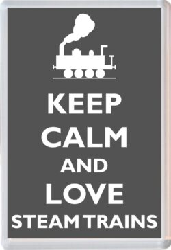 Keep Calm And Love Rabbits Personalised Jumbo Magnet