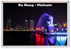 Vietnam Jumbo Fridge Magnet Souvenir Gift